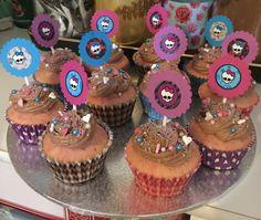 Monster High cupcakes for Kadence