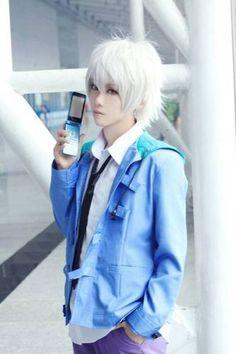 Akise-kun cosplay <3 Anime: My future diary