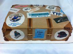 Graduation Memory Trunk by SugarMommas Custom Cakes