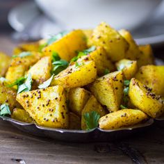 Crispy on the outside, fluffy on the inside, and richly spiced with Indian flavors — Bombay Potatoes are the perfect side...