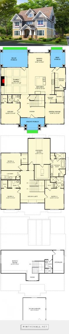 More house than I'll ever need but oh, I do love this plan!!!