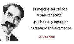 Frase muy ingeniosa de Groucho Marx