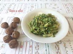 Pasta broccoli e noci Avocado Toast, Guacamole, Broccoli, Mexican, Pasta, Breakfast, Ethnic Recipes, Food, Meal
