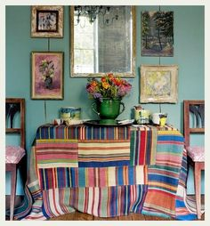 An Indian Summer: Eclectic Rooms