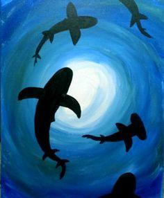 August Sharks  (for Shark Week!)