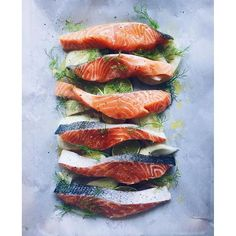 Amazing Salmon Recipes on https://feedfeed.info/salmon