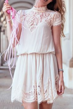 fashforfashion -♛ FASHION and STYLE INSPIRATIONS♛ - best outfit ideas: lace