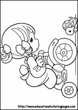 precious moments girl on bike printable copics coloring page