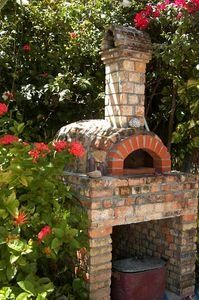 I think Paul dreams of an outdoor pizza oven Outdoor Rooms, Outdoor Gardens, Outdoor Living, Outdoor Decor, Outdoor Kitchens, Pizza Oven Outdoor, Outdoor Cooking, Outdoor Fireplace Brick, Outdoor Fireplaces