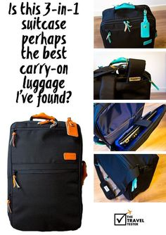 nice Is this travel backpack perhaps the best carry on luggage I've found?