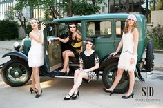 Great Gatsby Photoshoot | Stacey Dershem Photography