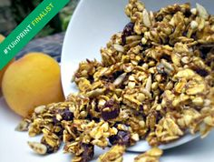 Vote for my Apricot-Lavender Granola in the #YUinPRINT recipe contest at Yum Universe!