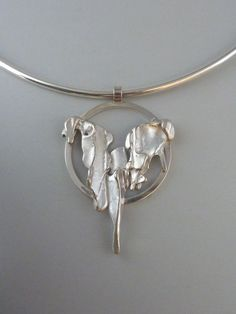 Pendant, silver casted in eucalyptus bark Anita Braat-Hopstaken, Passions Jewellery Design