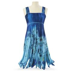 Blue Garden Dress - Women's Clothing & Symbolic Jewelry – Sexy, Fantasy, Romantic Fashions