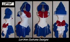 Sailor Moon Mars Any Scout Shrug Steel Boned Under by loriann37