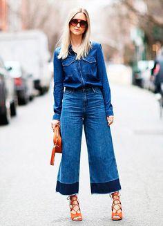 nice Лучшие идеи, с чем носить женскую джинсовую рубашку — Просто и со вкусом
