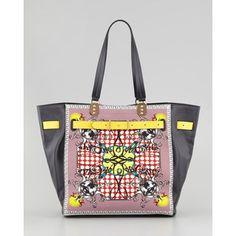 Women's Christian Louboutin Sybil Large Printed Tote Bag
