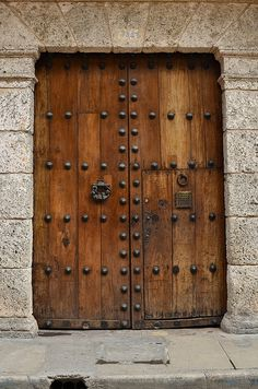 cartagena, colombia been to this door. love this photo