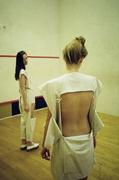 Anna-Sophie Berger, Austrian fashion designer studying at the University of Applied Arts in Vienna.  via vanillascented
