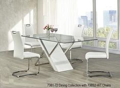 Modern Dining Room Furniture, Glass Dining tables, Bar Tables and stools in Toronto, Mississauga and Ottawa #diningroomfurniture