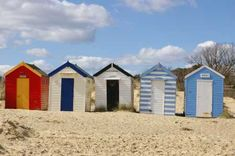 My fascination with beach huts. (Suffolk Visitor's Site)