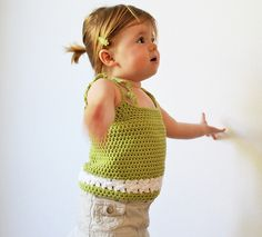 Ravelry: The Daisy Camisole pattern by Naturally Nora