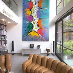 large abstract paintings | ... artists canvases Painting Experience Days Educational Painting Days