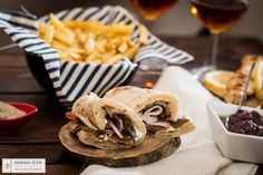 Give taste to your table with fluffy creations by #Achaikipita! Our recipe for today traditional pita wrapped with smoked steak and cheese salad!