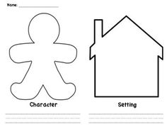 Character and Setting - graphic organizer