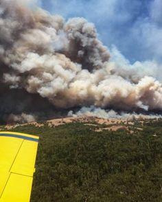 Sir Ivan bushfire, near Dunedoo. 12 February 2017. Photo NSW Rural Fire Service