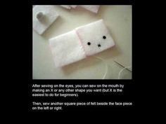 CUBED bunny plush tutorial cute kawaii