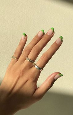 nail designs for fall nail designs for short nails 2019 full nail stickers nail art stickers walmart best nail stickers 2019 Cute Acrylic Nails, Gel Nails, Coffin Nails, Nail Nail, Coffin Acrylics, Stiletto Nails, Acrylic Nails Green, Dark Green Nail Polish, Mint Green Nails
