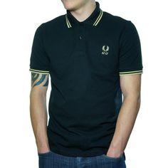 ff9212b8 Fred Perry Men's Tipped 60th Anniversary Polo « Impulse Clothes 60th  Anniversary, Fred Perry,