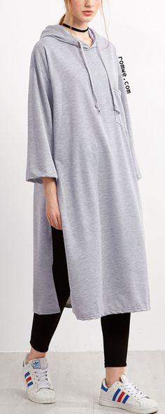 http://m.romwe.com/Grey-Slit-Side-Hooded-Long-Sweatshirt-p-194981-cat-673.html