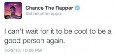 Chance the Rapper <3