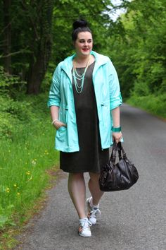 Sporty - Green and mint plus size outfit http://anaispenelope.blogspot.fr/2015/05/green.html