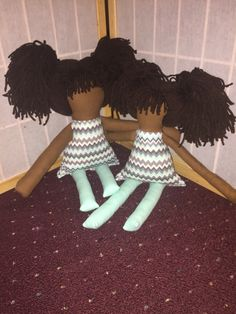 Custom made Big Sister and little sister dolls! $45