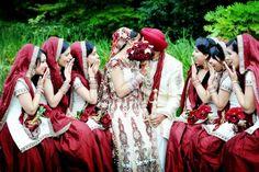 lovvve this lol Indian Wedding Bride, Big Fat Indian Wedding, Desi Wedding, Punjabi Wedding, Wedding Poses, Indian Weddings, Wedding Dresses, Wedding Ideas, Wedding Photoshoot