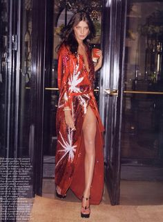 Daria Werbowy #fierce #glam