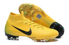 f8571e109438 Latest Nike Mercurial Superfly VI Elite FG Soccer Cleats - Yellow/Black/Green  Nike