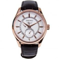 Seiko Presage Automatic Mens Watch SARW004J SARW004 Seiko Presage, Quality Watches, Rose Gold Watches, Seiko Watches, Watch Sale, Automatic Watch, Chronograph, Watches For Men, Accessories