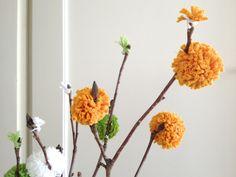 Blumenstrauss aus alten Shirts / Flower bouquet made from old shirts / Upcycling