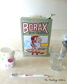 Since moving out on my own I have been on the search for cleaning products that work. I have to admit I'm a sucker for pretty, good smelling. Borax Uses, Cleaning Hacks, Cleaning Products, Home Remedies, Mugs, Tableware, Blog, Diy, Organizing