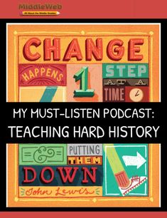 This past summer I became a podcast convert. The podcast I've turned to over and over is one of the most intense ones to process: Teaching Hard History from Teaching Tolerance at the Southern Poverty Law Center. History Teachers, Teaching History, Southern Poverty Law Center, Cult Of Pedagogy, Social Studies Notebook, World History, World Cultures, Economics, Teacher Resources