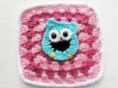 SaannisDesign - With Love & Happiness: Owl granny square - Mönster