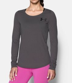 Shop Under Armour for Women's UA Stripe Long Sleeve in our Womens Tops department.  Free shipping is available in US.