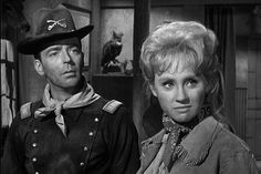 F Troop - Ken Berry as Capt. Wilton Parmenter & Melody Patterson as Wrangler Jane Angelica Thrift