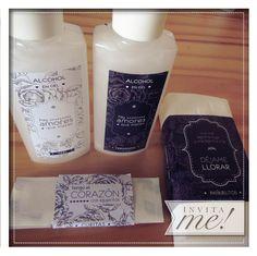 Kit de baño, personalizado para tu evento! pedilo a hola@invita-me.com.ar