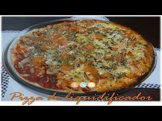 Pizza sem glúten vegana (sem lactose, sem ovo) - YouTube