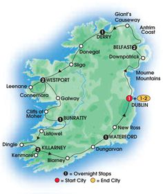 7 Best Ireland Tours images